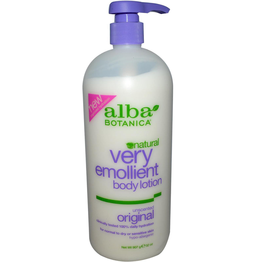 Alba Botanica Very Emollient Unscented Body Lotion (1x32 Oz) - Rhea Manor Natural Market