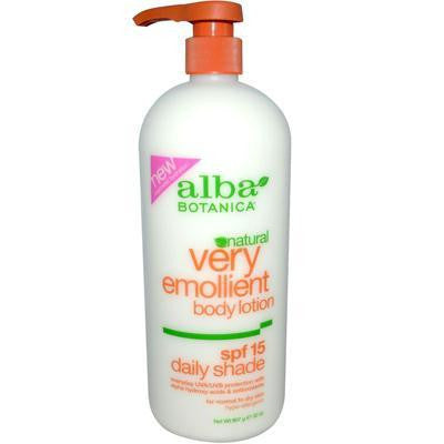 Alba Botanica Very Emollient Daily Shade Spf1 (1x32 Oz) - Rhea Manor Natural Market