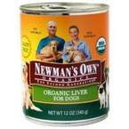 Newman's Own Liver Dog Food Can (12x12 Oz) - Rhea Manor Natural Market