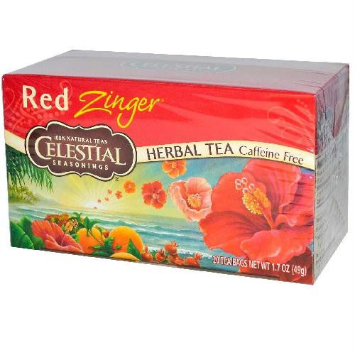 Celestial Seasonings Red Zinger Herb Tea (6x20bag) - Rhea Manor Natural Market