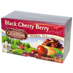 Celectial Seasonings Black Cherry Herb Tea (6x20bag) - Rhea Manor Natural Market