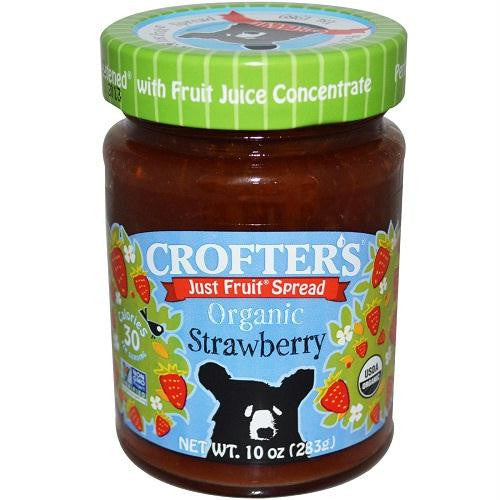Crofters Strawberry Fruit Spread (6x10 Oz) - Rhea Manor Natural Market