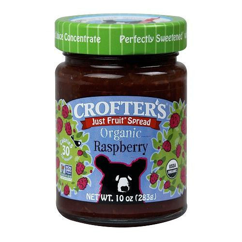 Crofters Raspberry Fruit Spread (6x10 Oz) - Rhea Manor Natural Market