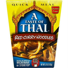 Taste Of Thai Red Curry Quick Meal Noodles (6x5.75 Oz) - Rhea Manor Natural Market