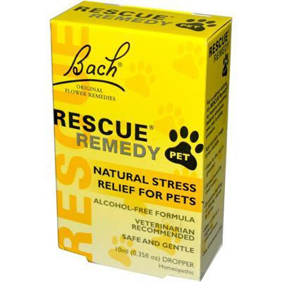 Bach Pet Rescue Remedy (1x10 Ml) - Rhea Manor Natural Market
