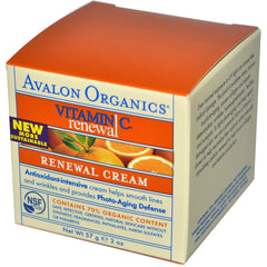 Avalon Vitamin C Renewal Cream (1x2 Oz) - Rhea Manor Natural Market