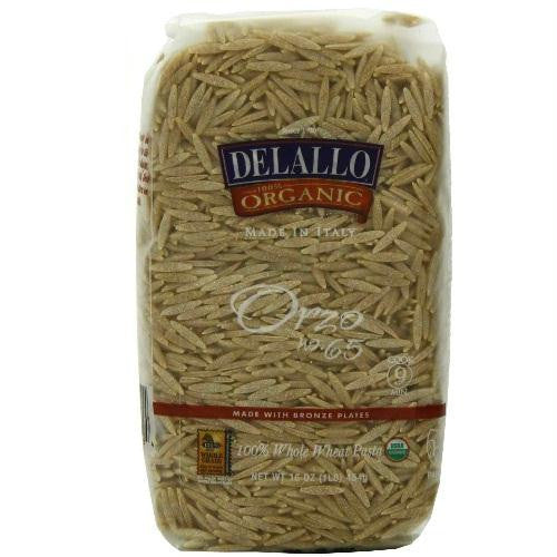 De Lallo Orzo Whole Wheat Pasta (16x17 Oz) - Rhea Manor Natural Market