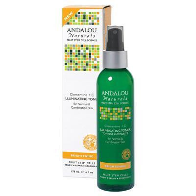 Andalou Naturals Clem+c Illuminating Toner (1x6 Oz) - Rhea Manor Natural Market