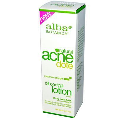 Alba Botanica Acnedote Oil Control Natural Lotion (1x2 Oz) - Rhea Manor Natural Market