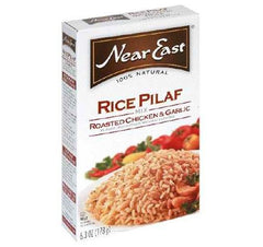 Near East Roasted Chicken & Garlic Pilaf (12x6.3 Oz) - Rhea Manor Natural Market