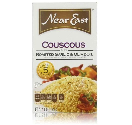 Near East Roasted Garlic & Olive Oil Couscous (12x5.8 Oz) - Rhea Manor Natural Market