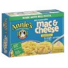 Annie's Homegrown Rice Pasta & Wisconsin Cheddar Mac & Cheese (6x10.7 Oz) - Rhea Manor Natural Market
