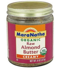 Maranatha Raw Almond Butter No Salt (12x8 Oz) - Rhea Manor Natural Market