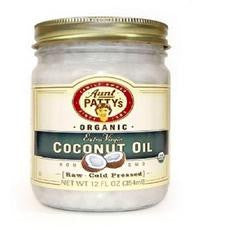 Aunt Patty's Organic Extra Virgin Coconut Oil (6x6/12 Oz) - Rhea Manor Natural Market