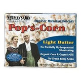 Newman's Own Organics Microwave Light Butter Pop's Corn (12x3x2.8 Oz)