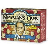 Newman's Own Oldstyle Picture Show Butter Popcorn (12x3pk )