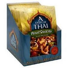 A Taste Of Thai Peanut Sauce Mix (6x3.5oz) - Rhea Manor Natural Market