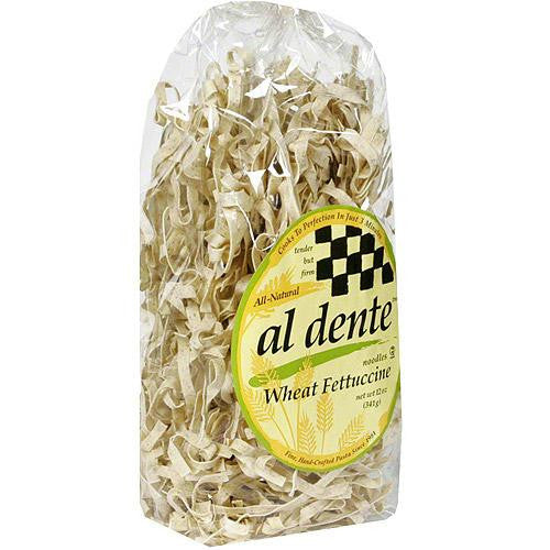 Al Dente Whole Wheat Fettuccine(6x12 Oz) - Rhea Manor Natural Market