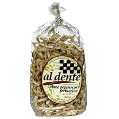 Al Dente Three Peppercorn Fettuccine (6x12oz) - Rhea Manor Natural Market