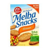 Old London Melba Snacks Sesame (12x5.25oz)