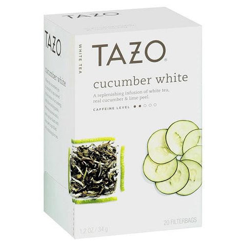 Tazo Cucumber White Tea (6x20bag)