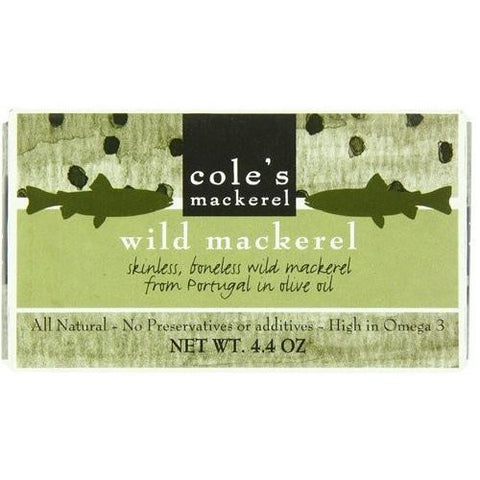 Coles Mackerel Olive Oil (10x4.4oz)