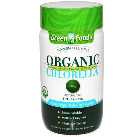Green Foods Og1 Chlorella 500mg (1x120tab)