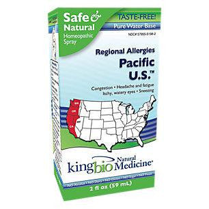 King Bio Allergy Pacific Us (1x2oz)