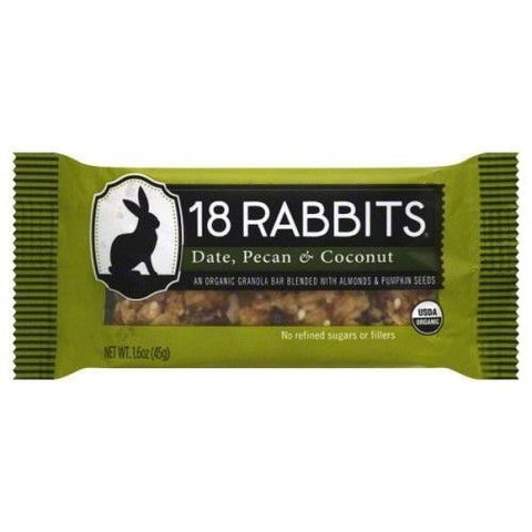 18 Rabbits Og2 Date Pecan Coconut Bar (12x1.6oz)