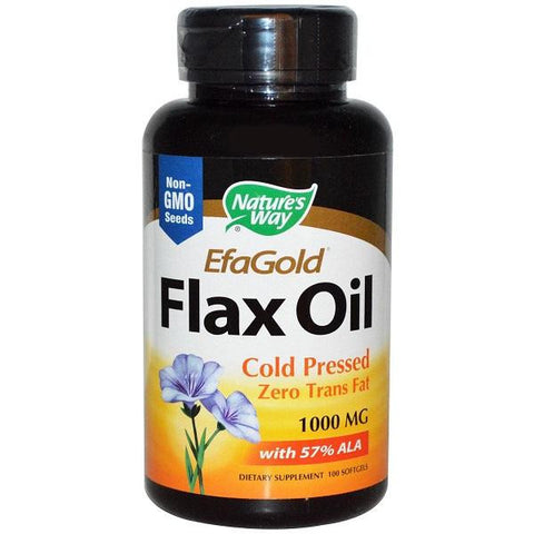 Nature's Way Flax Oil 1000mg (1x100sgel)