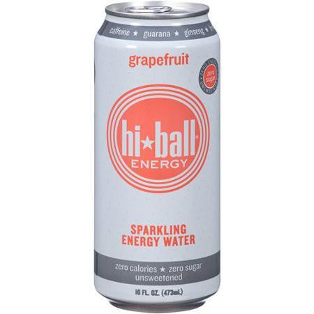 Hiball Sparkling Energy Water Grapefruit (6x4pack)