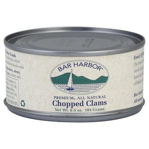Bar Harbor Chopped Clams (12x6.5oz)