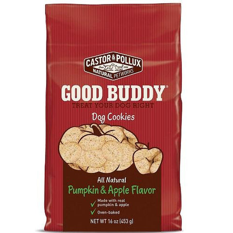 Castor & Pollux Good Buddy Pumpkin And Apple Dog Cookie (8x16oz)