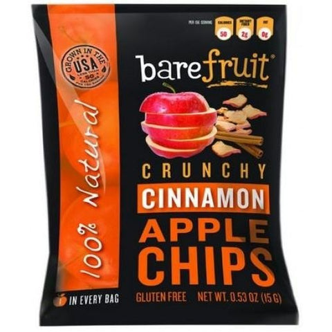 Bare Naturally Crunchy Cinnamon Apple Chips (12x3.4 Oz)