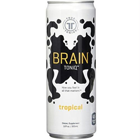 Brain Toniq Natural Energy Drink Tropical (12x12 Oz)