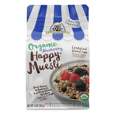 Bakery On Main Happy Organic Muesli Blueberry (4x14 Oz) - Rhea Manor Natural Market