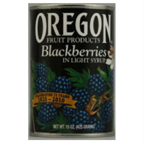 Oregon Fruit Oregon Blackberries (8x15 Oz)