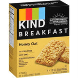 Kind Breakfast Honey Oats (8x4 Pack)