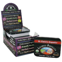 St. Claire's Licorice Swts (6x1.5oz ) - Rhea Manor Natural Market