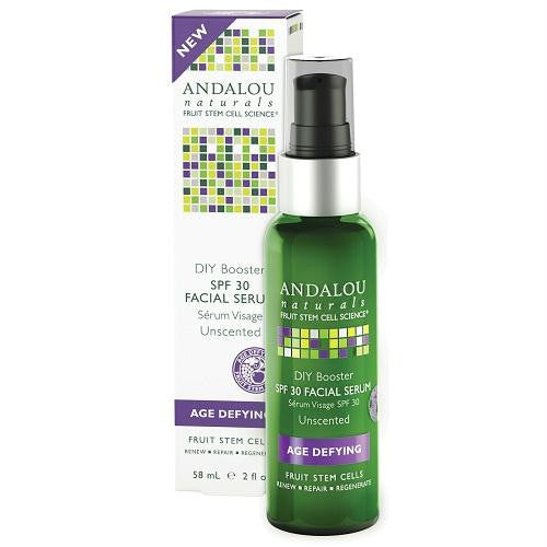 Andalou Naturals Diy Booster Spf 30 Facial Serum  (1x2 Oz) - Rhea Manor Natural Market