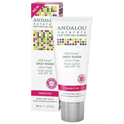 Andalou Naturals 1000 Roses Facial Lotion Spf 18 (1x2.7 Oz) - Rhea Manor Natural Market