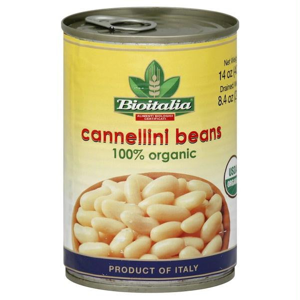 Bioitalia Cannellini Beans (12x14oz ) - Rhea Manor Natural Market