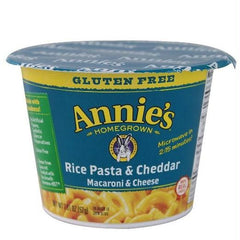 Annie's Homegrown Organic Classic Microwaveable Macaroni & Cheese  (12x2.01 Oz) - Rhea Manor Natural Market
