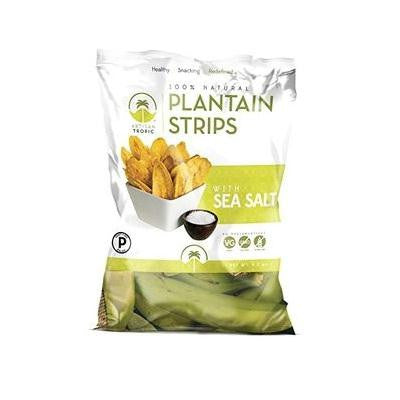 Artisan Tropic Plantain Strips With Sea Salt (12x4.5 Oz) - Rhea Manor Natural Market
