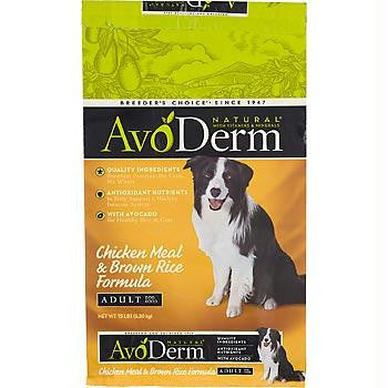 Avoderm Chicken Rice Dry Dog (1x30lb )