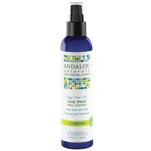 Andalou Naturals Argan Stem Cell Hair Spray (1x6 Oz) - Rhea Manor Natural Market