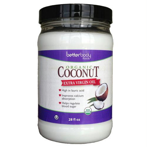 Better Body Foods Coconut Oil, Extra Virgin (6x28 Oz) - Rhea Manor Natural Market