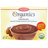 European Gourmet Bakery Organics Cooked Pudding & Pie Filling Mix Chocolate (12x3.5 Oz)