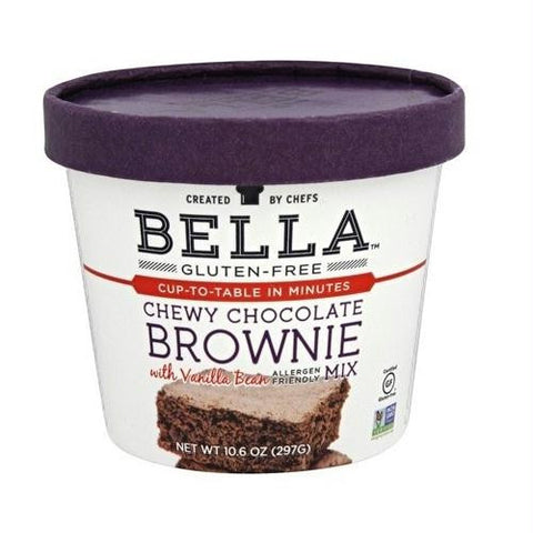 Bella Chewy Chocolate Brownie Mix (6x10.5 Oz)
