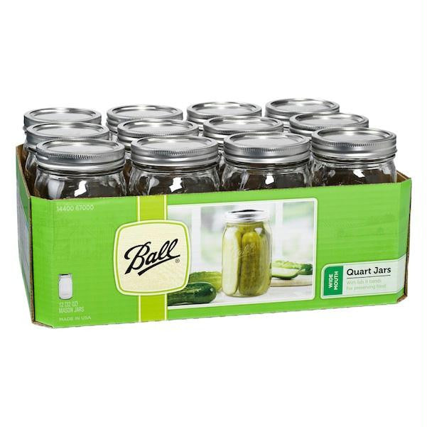 Ball Widemth Canning Jar (1x12 Ct) - Rhea Manor Natural Market